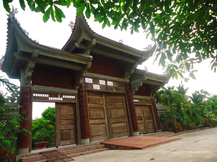 Chùa Tảo Lâm đẹp độc đáo của miền Bắc