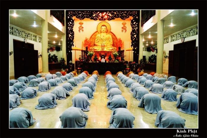 Thờ Phật, Lạy Phật, Cúng Phật